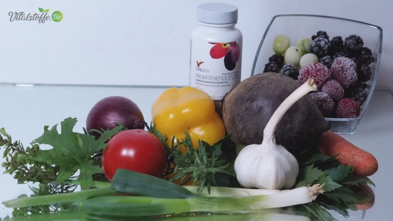 Proanthenol als Nahrungsergänzung in der 21 Tage Stoffwechselkur