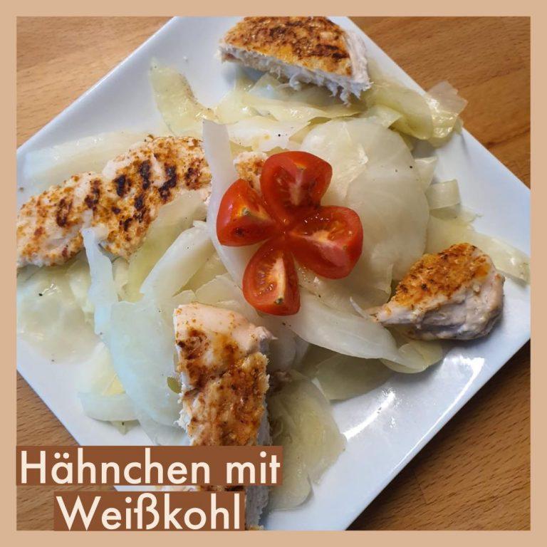 Hähnchen mit Weißkohl